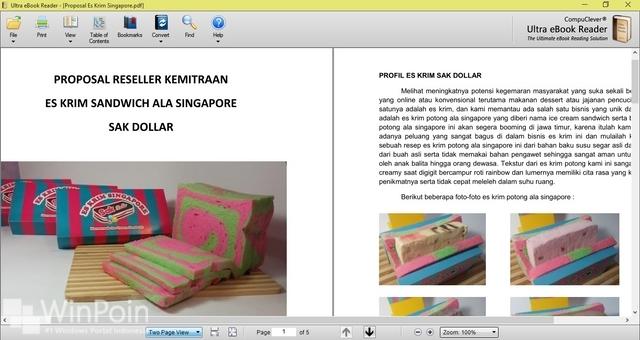 Dapatkan Gratis Ultra eBook Reader Seharga Rp 500 Ribu