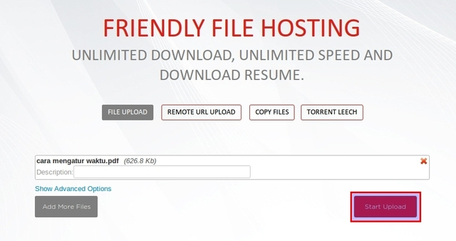 ZXCFiles: File Hosting dengan Unlimited Download, Max Speed, dan Download Resume (Support Torrent!)