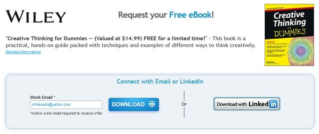 """Terbatas: Download eBook """"Creative Thinking for Dummies"""" Senilai 196 Ribu — Gratis!"""
