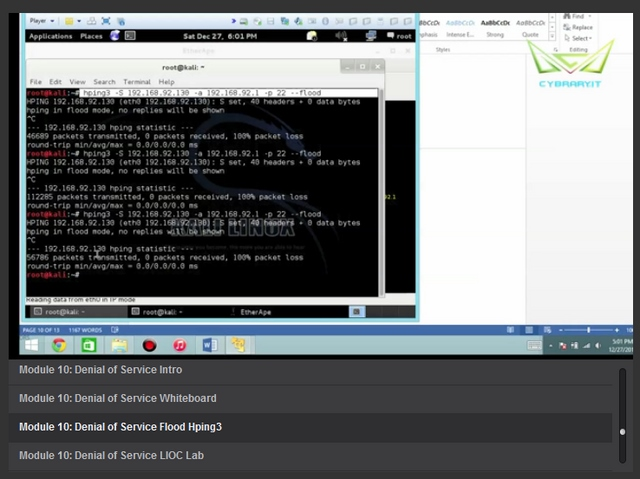 Gratis — Video Tutorial Jago Hacking (DDoS Attack, SQL Injection, Mobile Hacking, Membuat Virus & Trojan, dsb)