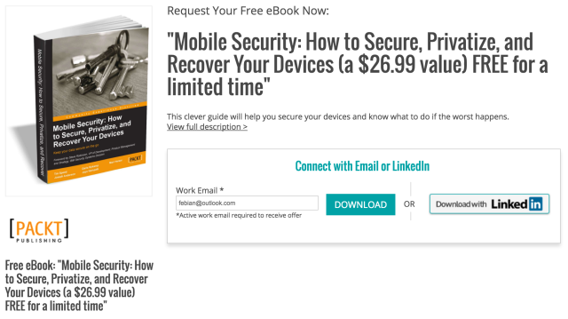 "Download Ebook ""Mobile Security: Bagaimana Membuat Device Kamu Super Aman"" (Senilai $26.69, GRATIS!)"