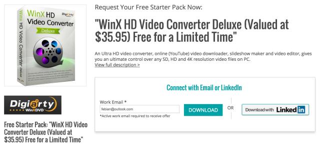Dapatkan Lisensi WinX HD Video Converter Deluxe Senilai 471 Ribu, Gratis!