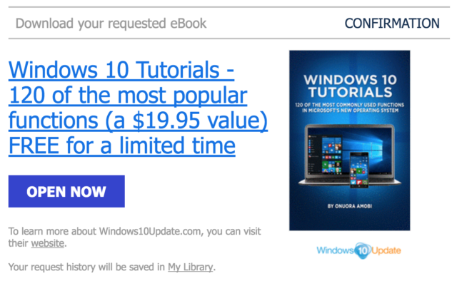 HOT: Download Ebook Tutorial Windows 10 Senilai 261 Ribu, Gratis!